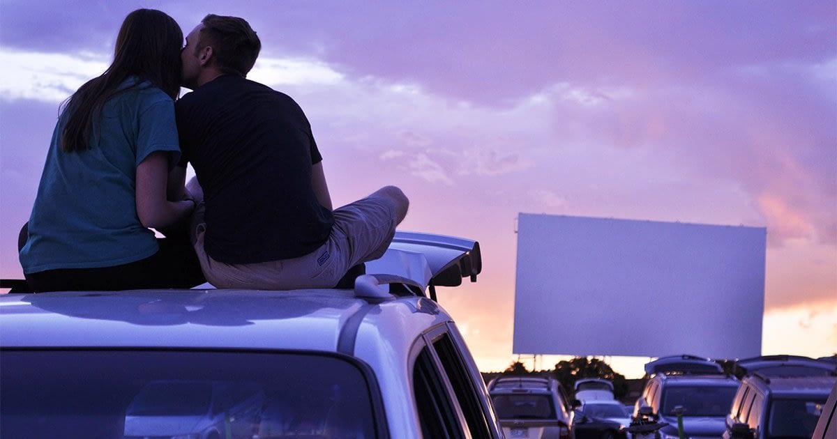 movie theatre drive-in