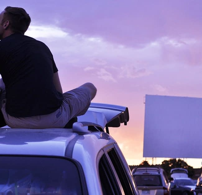 movie theatre drive-in