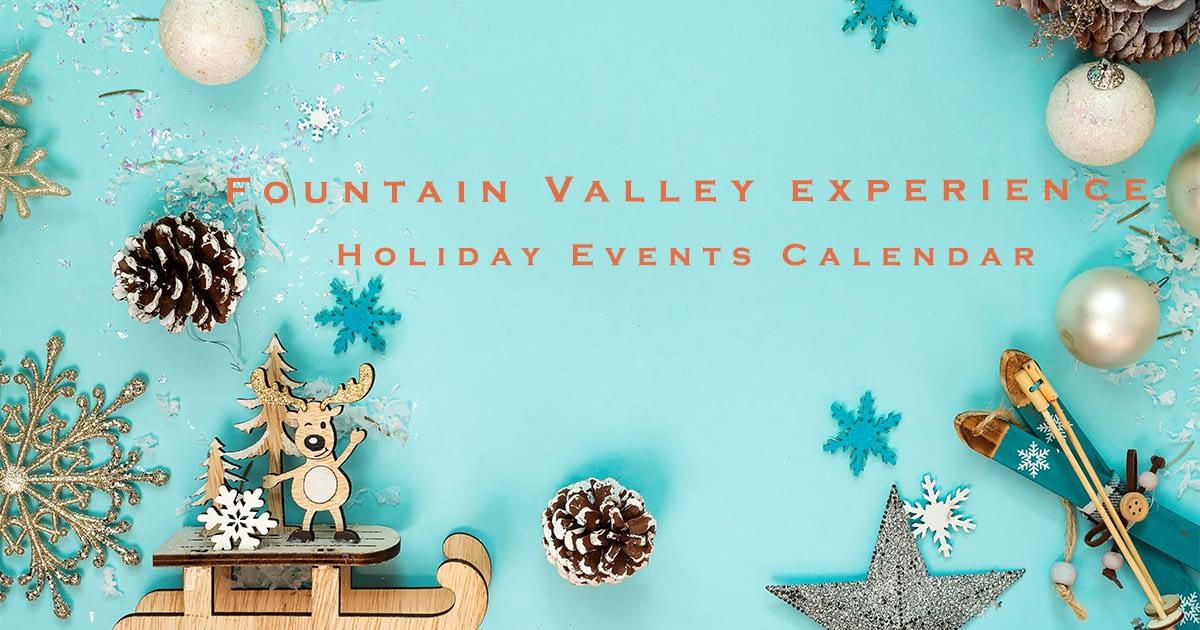 Fountain Valley Holiday Calendar