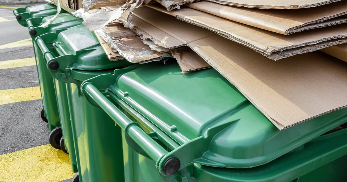 Green waste laws in Fountain Valley lead to an increase in trash collection rates.